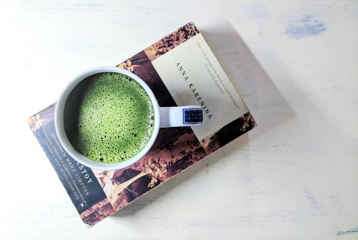 In this cold, nothing beats curling up with a good book and a hot cuppa matcha 💚🍵📗  Visit www.justmatcha.co.za to get your matcha fix.  #justmatcha #matchalove #matcha #matchagreentea #winter #annakarenina #matchaaddict #matchaholic