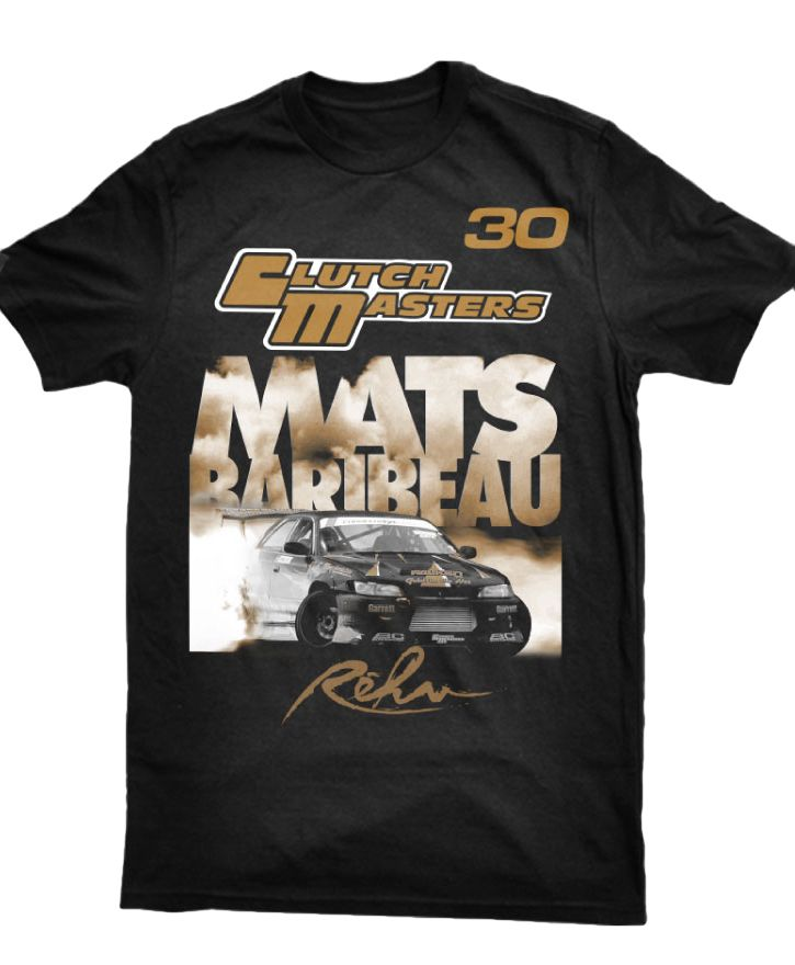 Mats Baribeau / Clutch Masters / Rehv T shirt now available!