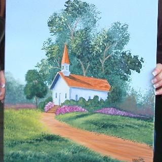 Church: Art Church, Canvas Paintings