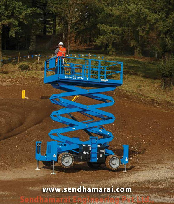 We Supply Genie GS-4390 Scissor Lifts ideal for indoor and outdoor