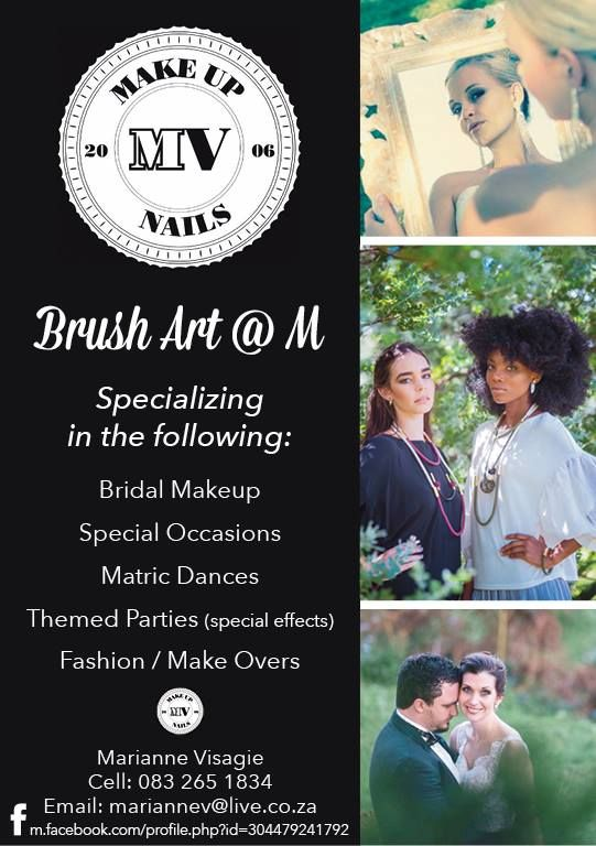 Brush art @ M @makeupbymariannevisagie. 📩 mariannev@live.co.za