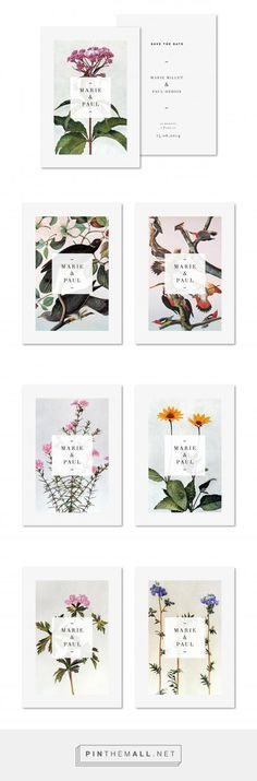 Marie et Paul. Beautiful branding and design.