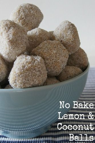 No Bake Lemon Balls - tasty and easy to make. A recipe to get the kids in the kitchen
