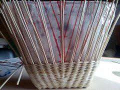 ОдноклассникиПлетение сумки в форме трапеции (добавление стоек)