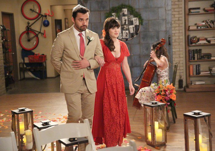 Pin for Later: Schmidt and Cece Finally Tie the Knot in the New Girl Wedding of the Century