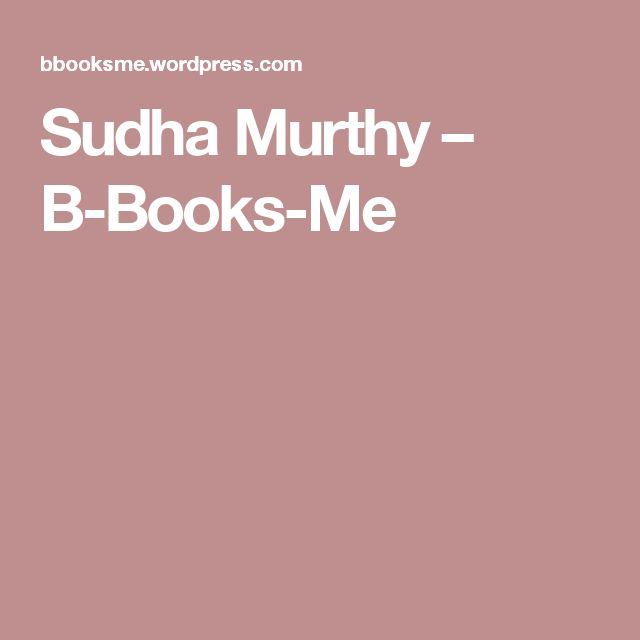 Sudha Murthy – B-Books-Me