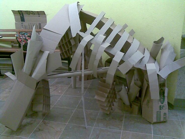 Creatividad con cartón
