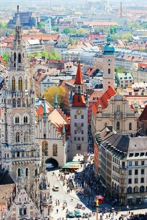 Munich, Germany. I will make it my future home one day...it will happen.