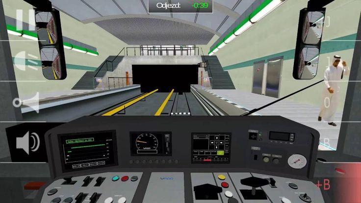 Subway Simulator Prague metro A Nemocnice Motol - Depo Hostivař (cabview)