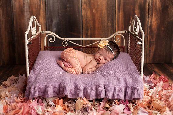 Newborn Lace Pant, Newborn Pants, Lace Pants, Flower Headband, Lace, Newborn Lace Clothing, Newborn Clothing, Photography Prop, Newborn Prop