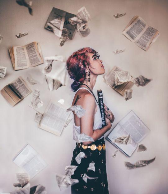 I love books Lauren Rita Photography