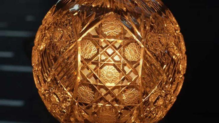 Luxury Bohemia Glass/チェコスロバキア 高級ボペミアクリスタル照明の輝き