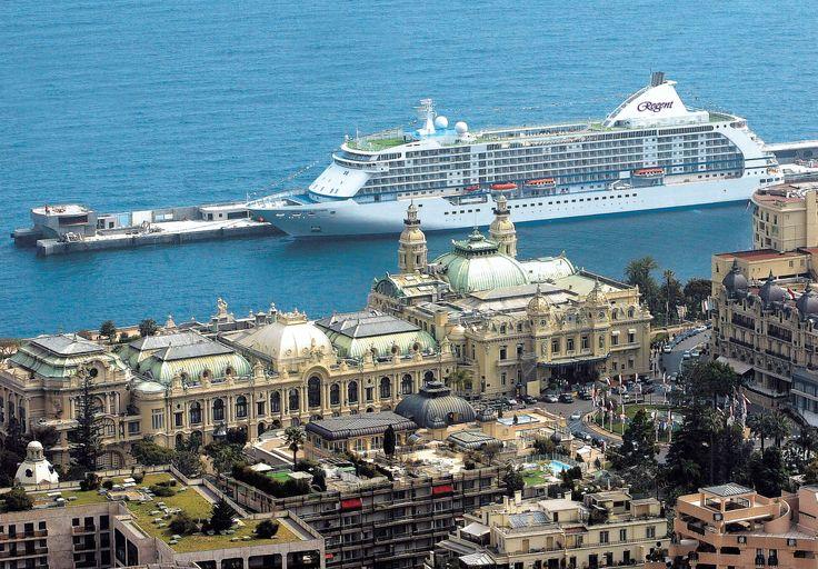 Seven Seas Voyager in Monte Carlo #Cruise #Travel