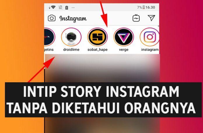 Cara Melihat Story Instagram Tanpa Ketahuan Tanpa Aplikasi Instagram Aplikasi