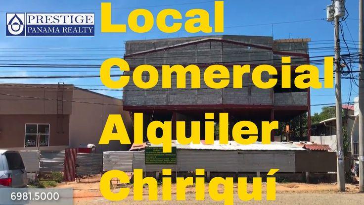 Alquiler Local comercial en David sobre la vía más importante, la F Sur....