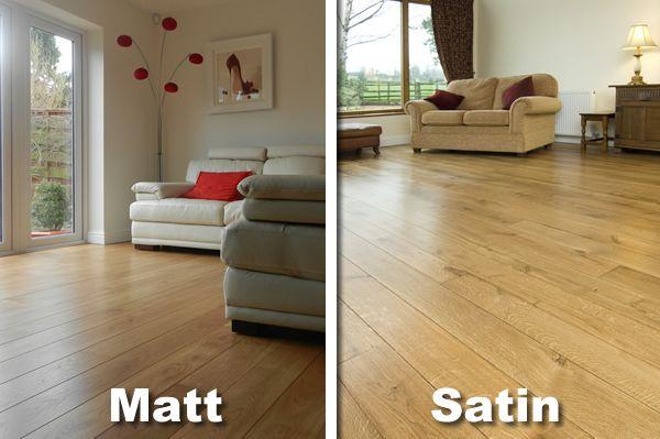 Satin finish vs matte finishjpg matte flooring is not as for Floor varnish matt
