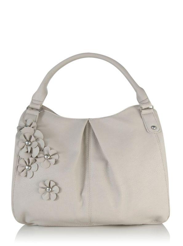 Corsage Detail Handbag