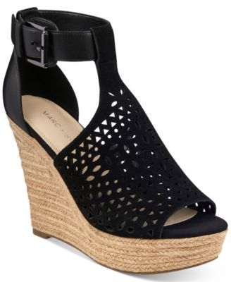 1bbb8848a4dd Marc Fisher Hasina T-Strap Platform Wedge Sandals
