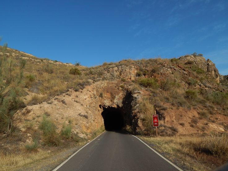 Tunel del tren Lucainena-Aguamarga