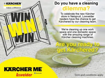 It's the season for giving, so sit back, relax and let 'Kärcher' do your dirty work for you, literally! Enter this competition and you could win big!