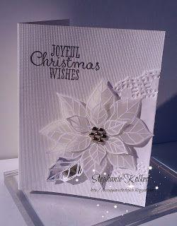 Stampin Up Joyful Christmas card