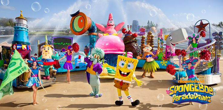 Sea World - Gold Coast, Australia - SpongeBob ParadePants