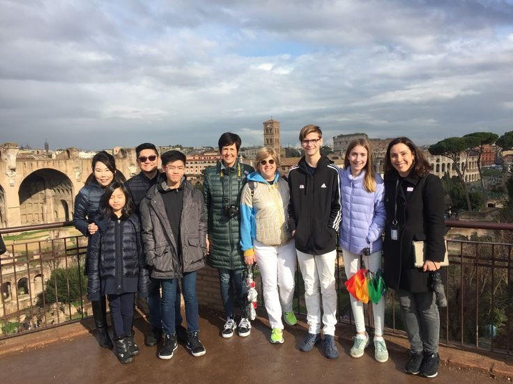 Our guide Jade took this photo from the Palatine hill with our clients on February 19th during their Colosseum Underground and ancient city tour - can you imagine a better view than this? Our clients got to see the ancient city and the Colosseum from a new perspective which let them imagine what it would have been like 2000 years ago! For more information about our Colosseum underground and ancient Rome tour:  www.livitaly.com/tour/colosseum-underground-ancient-rome-tour/?src=pinterest