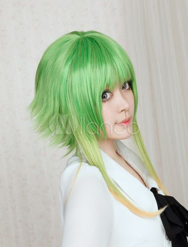 Perruque Cosplay Vocaloid Gumi