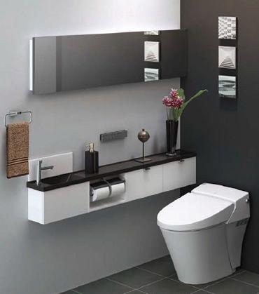 Common bathroom | LIXIL|商品ラインアップ|トイレ|トイレ用手洗|手洗キャビネット | キャパシア | プラン