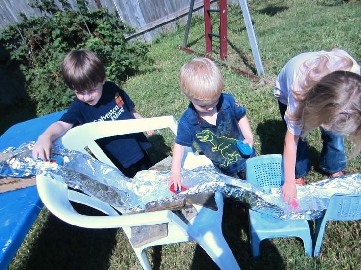 Preschool White Water Rafting