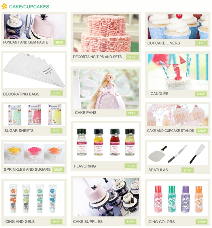 All the cupcake / cake supplies you could need...in one place! Kara's Party Ideas Shop - www.KarasPartyIdeas.com/shop