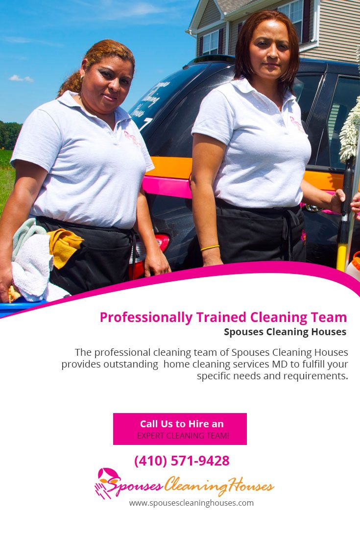 The professional cleaning team of Spouses Cleaning Houses provides outstanding #home_cleaning_services_MD to fulfill your specific needs and requirements.