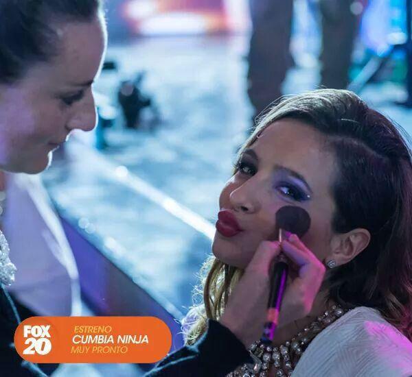 Cumbia Ninja II - Brenda Asnicar / Makeup Design VIVIANNE SALER #cumbianinja #brendaasnicar