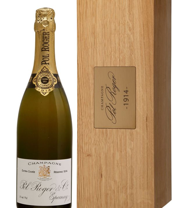 Last Friday Bonhams, the London auction house, sold a bottle of Pol Roger Champagne 1914 for £5,640 (approximately $9,000).
