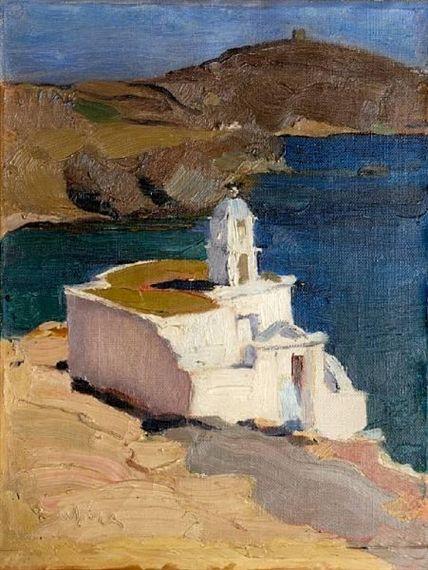 Nikolaos Lytras, St Markos church, Tinos
