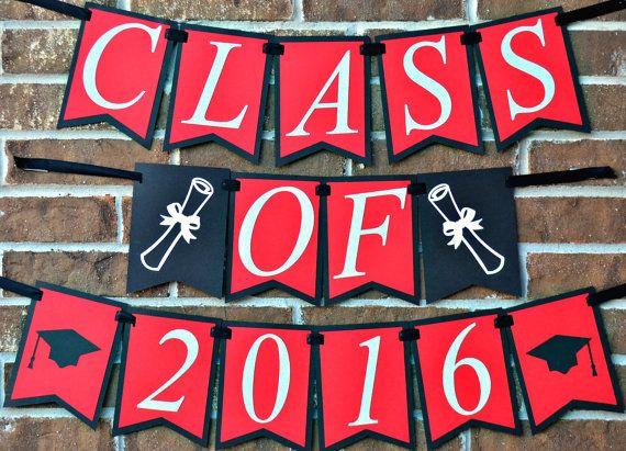 class of 2016 graduation banner graduation ideas pinterest