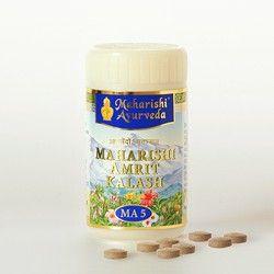 A Maharishi Amrit Kalash immunrendszerre gyakorolt hatása. A MAK5 elnyomja az életkor előrehaladtával megfigyelhető hashártya-makrofágok aktivitásának hanyatló értékeit és a sejtes immunválaszok csökkenését (egyidejűleg a szőlőcukor fogyasztásának mértéke arányosan nő) végső soron pedig jelentősen hozzájárul az immunrendszer gyengülésének megelőzéséhez, a szervezetre káros folyamatok visszafordítását indítja be sejt szinten: http://m.ajurveda.hu/Amrit-immunrendszer