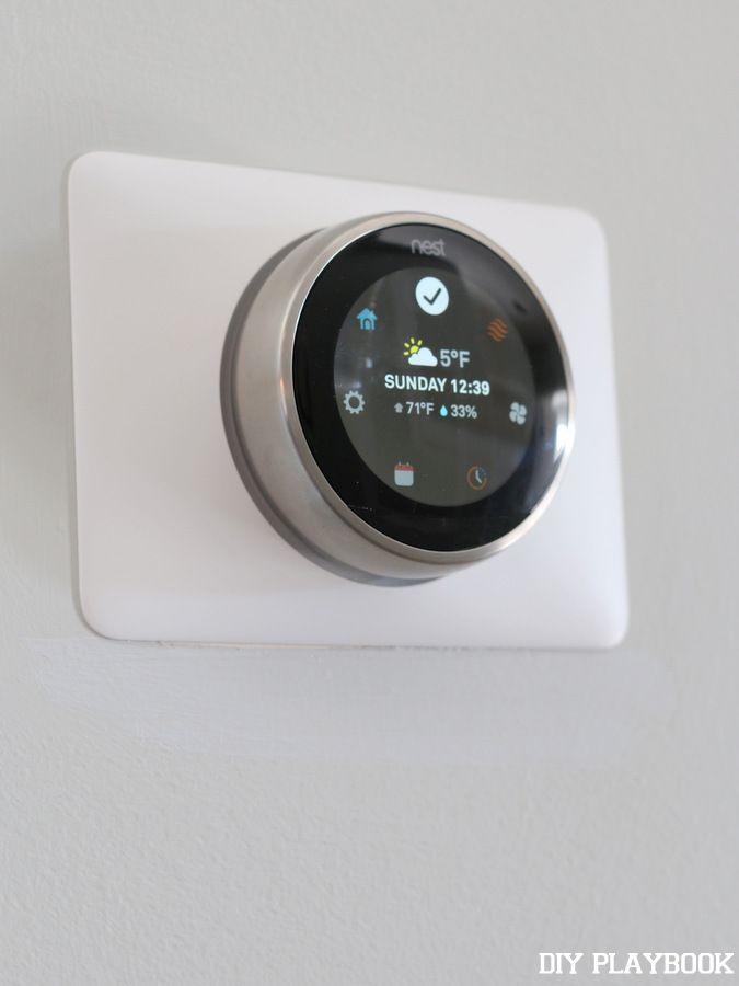 57 best nest thermostat decor images on pinterest nest thermostat learning thermostat and the. Black Bedroom Furniture Sets. Home Design Ideas