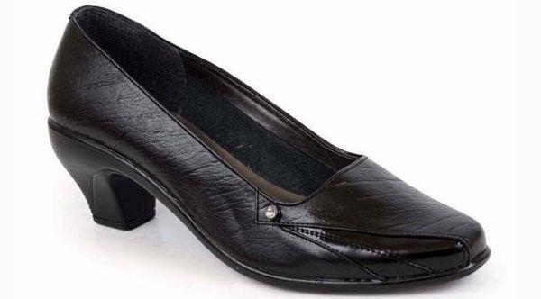 Sepatu kerja wanita formal sepatu pantofel wanita branded murah terbaru 143.S16