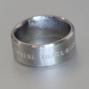 hebrew engraved weddiing band