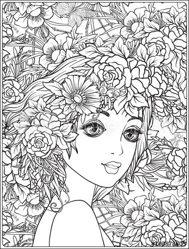 Free, Printable Coloring Pages for Adults   500x379