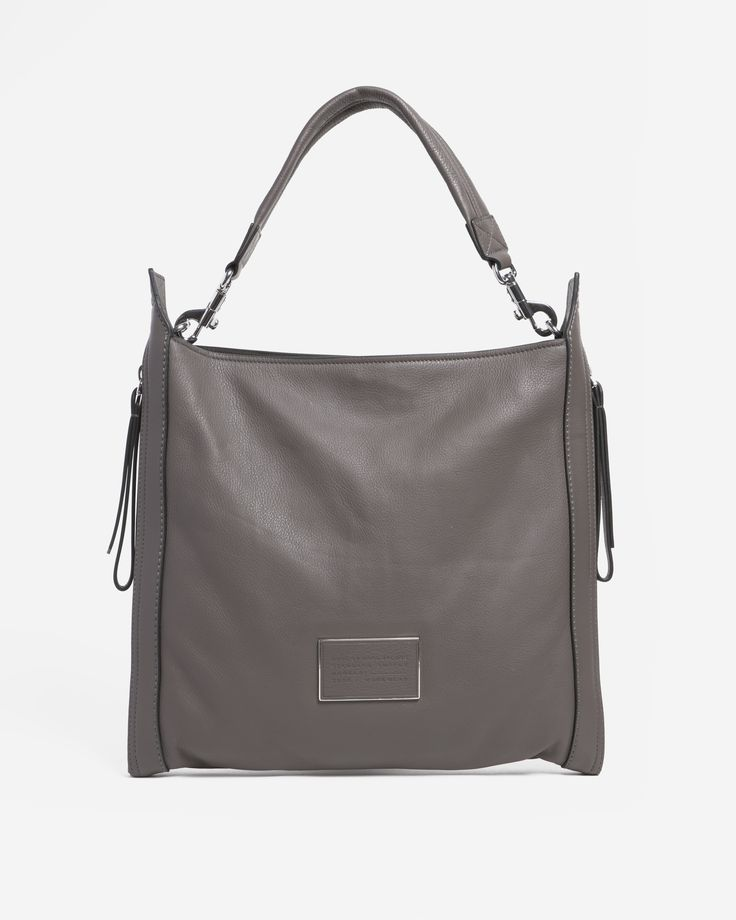 Marc by Marc Jacobs Zip That Hobo - Faded Aliminium