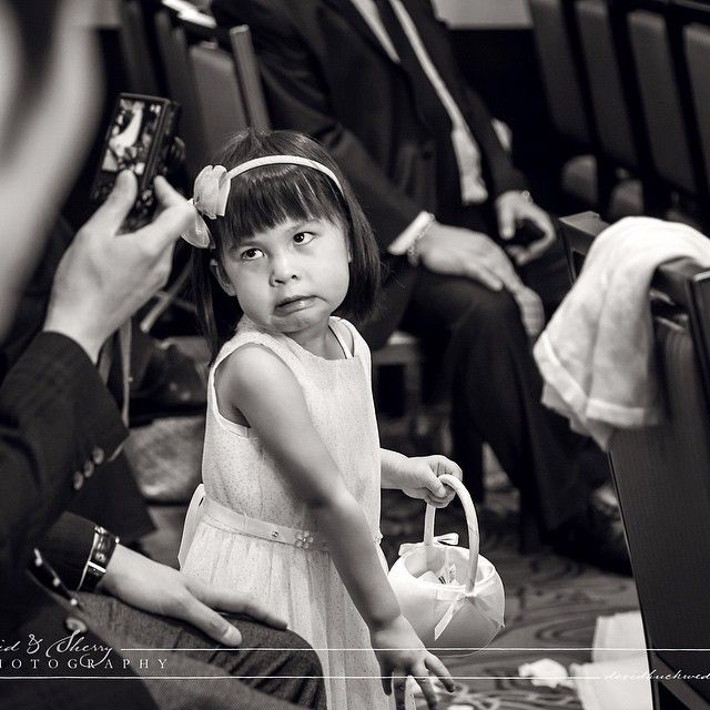 There's a good smile at the camera face :) #weddingmoment #weddingphotography #flowergirl #torontowedding #torontobride #torontophotographer #torontoweddingphotographer
