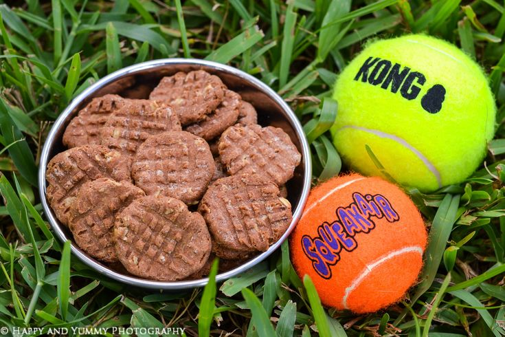 peanut butter dog cookies-0502