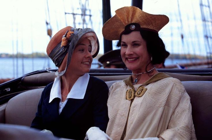 Anne and Diana riding in Diana's car - Anne of Green Gables Wiki#