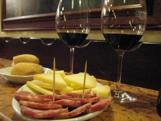 Ai Rusteghi; when in Venice.  Great, tucked-away wine bar.