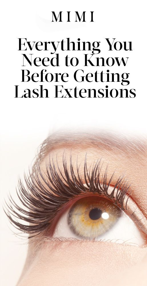 72139ec680d Getting Lash Extensions? You Need to Read This First from InStyle.com  #EyeLashesGrowth