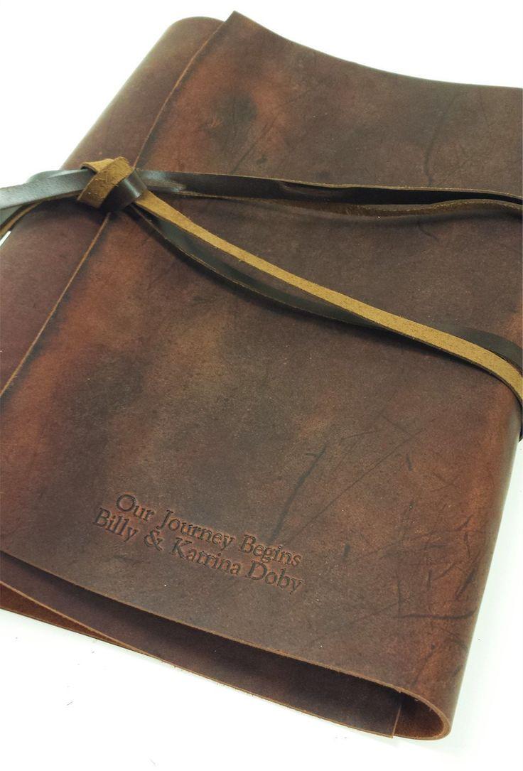Woodsman Soft Leather 3 Ring Binder – Jenni Bick Bookbinding