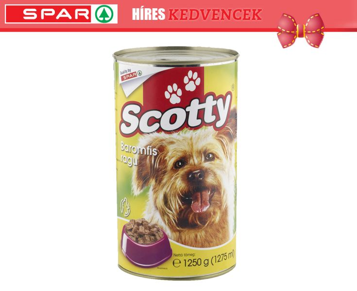 Scotty kutyaeledel baromfi konzerv 1250 g / Pineld, és nyerd meg!
