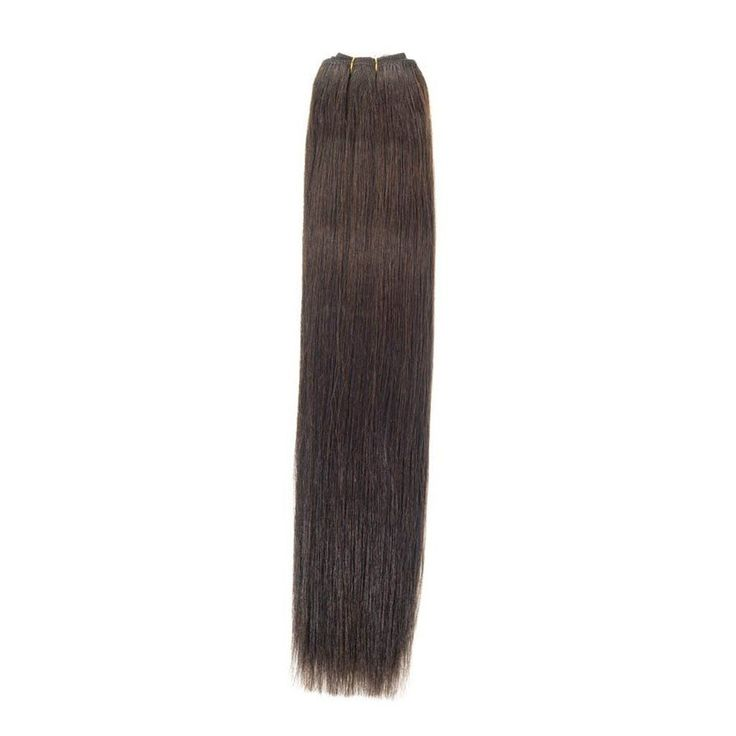25 unique glue in hair extensions ideas on pinterest diy hair euro silky weave human hair extensions 22 inch colour 2 dark brown 100 high quality remy hair extensions for weaving dark brown human hair weave pmusecretfo Gallery